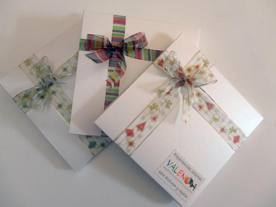 Cajas regalo experiencias valencia con motivos navide os - Cajas con motivos navidenos ...